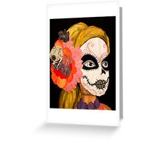 Sugar Skull Barbie Greeting Card