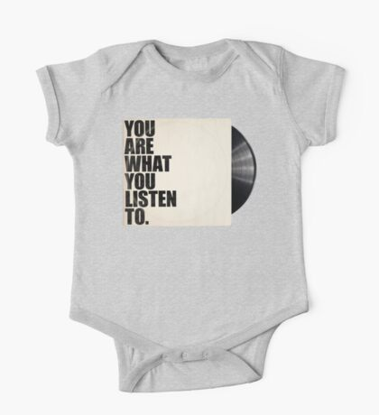 You Are What You Listen To Kids Clothes