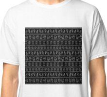 Geometry and blackboard Classic T-Shirt