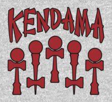 Kendama x5, red by gotmoxy