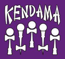 Kendama x5, white by gotmoxy