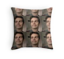 Creepy Stiles Throw Pillow