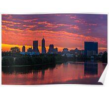 Indianapolis Sunrise Poster