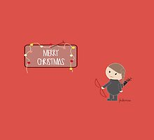 Merry Christmas by Katniss  by Federhica