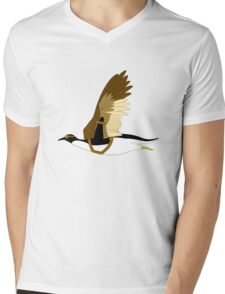 Penguins Can't Fly Mens V-Neck T-Shirt