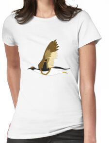Penguins Can't Fly Womens Fitted T-Shirt