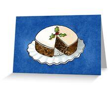 Christmas - Fruit Cake CARD Greeting Card