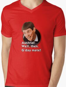 G'day mate! Mens V-Neck T-Shirt