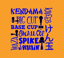 Kendama Word Block, blue Unisex T-Shirt