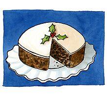 Christmas - Fruit Cake PRINTS Photographic Print