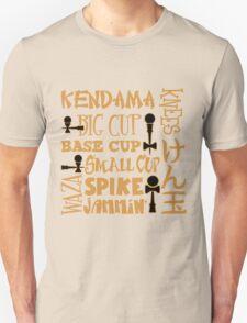 Kendama Block, gold T-Shirt