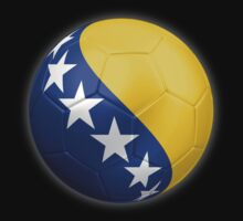 Bosnia and Herzegovina - Bosnian Flag - Football or Soccer 2 by graphix