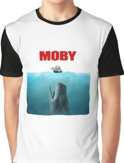 Jaws poster Moby Graphic T-Shirt