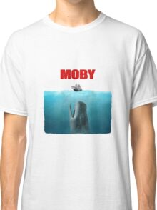 Jaws poster Moby Classic T-Shirt