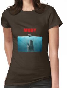 Jaws poster Moby Womens Fitted T-Shirt