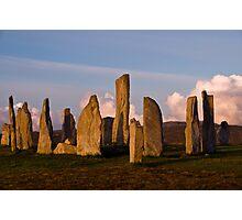 Calanais Stone Circle Photographic Print
