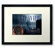 DR WHO - 50th Anniversary Framed Print