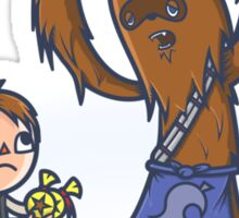 Tom Wookiee Sticker