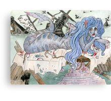 Shark Siren  Canvas Print