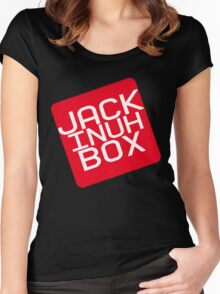 JACK INUH BOX Women's Fitted Scoop T-Shirt