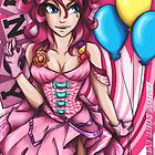 Lady Pinkie Pie Poster by AngelTripStudio