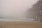 Fog At The Pier by ©Dawne M. Dunton