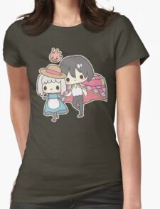 Howls Moving Castle - Studio Ghibli Womens Fitted T-Shirt