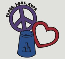 Peace-Love-Cups2, blue by gotmoxy