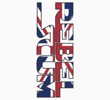 REBEL SCUM STICKER by tiffanyo