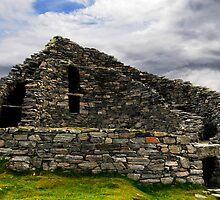 Carloway Broch on Lewis Island in Scotland by donberry
