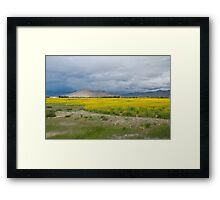On the way to Mount Everest Framed Print