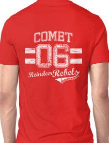 Comet Reindeer Rebel Unisex T-Shirt