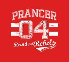 Prancer Reindeer Rebel Unisex T-Shirt