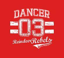 Dancer Reindeer Rebel Unisex T-Shirt