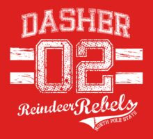 Dasher Reindeer Rebels T-Shirt