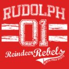 Rudolph Reindeer Rebel by Jesse Cain