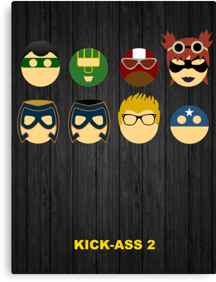 Minimalist Posters: Kick-Ass 2 by JordanDefty