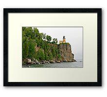 Beautiful Split Rock Lighthouse Framed Print