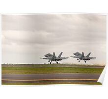 Twin Take-off Poster