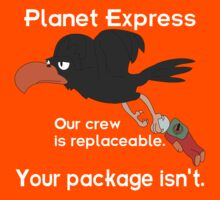 Planet Express - Our Crew Is Replaceable. Your Package Isn't. v2 by ChrisButler
