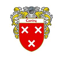 Candy Coat of Arms/Family Crest Photographic Print