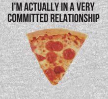 Funny Pizza Relationship by Alan Craker