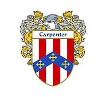 Carpenter Coat of Arms/Family Crest Photographic Print