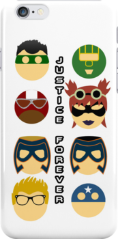 Kick-Ass 2: Justice Forever Phone Case by JordanDefty