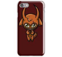 Orange Chibi Demon Phone Case iPhone Case/Skin
