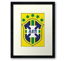 AEPi Brazil Futbol (Soccer) Framed Print
