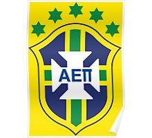 AEPi Brazil Futbol (Soccer) Poster