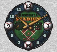 Baseball Stadium One Piece - Long Sleeve