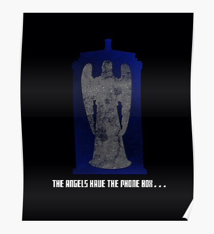The Angel and the Blue Box Poster