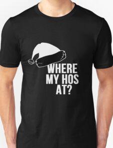 Santas Chrismas Hos T-Shirt